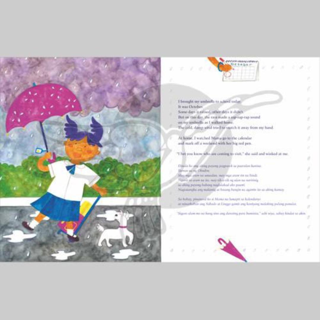 How Long Till September?   English Filipino Bilingual   Adarna House   Children's Book