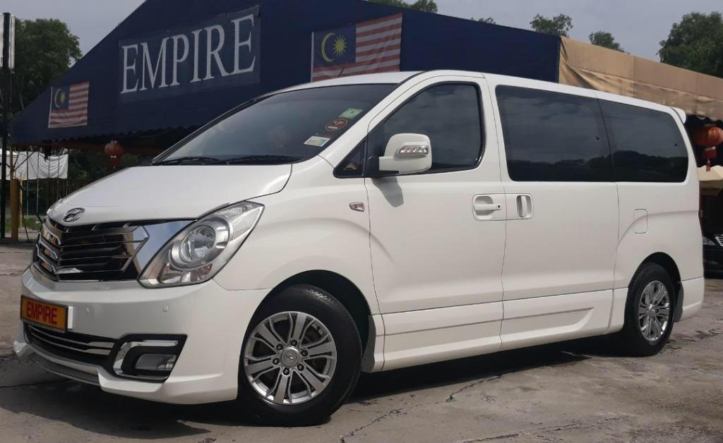 HYUNDAI GRAND STAREX ROYALE 2.5 (A) DIESEL TURBO !! 11 SEATER MPV !! NEW FACELIFT !! FULL HYUNDAI SERVICE RECORD !! FULL SPECS !! FULL BODYKIT !! ( WXX 555 ) 1 VIP OWNER !!