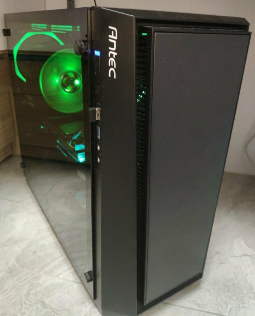 I5-9400F+GTX1660TI電競遊戲主機 閒置狀態 自用二手 有單 有盒 不散賣 不議價 可以即日交收