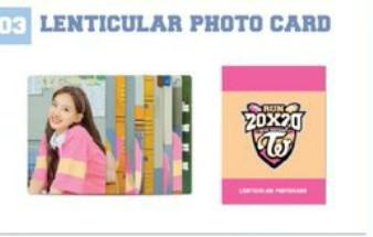 [INTEREST CHECK] Twice season greetings lenticular