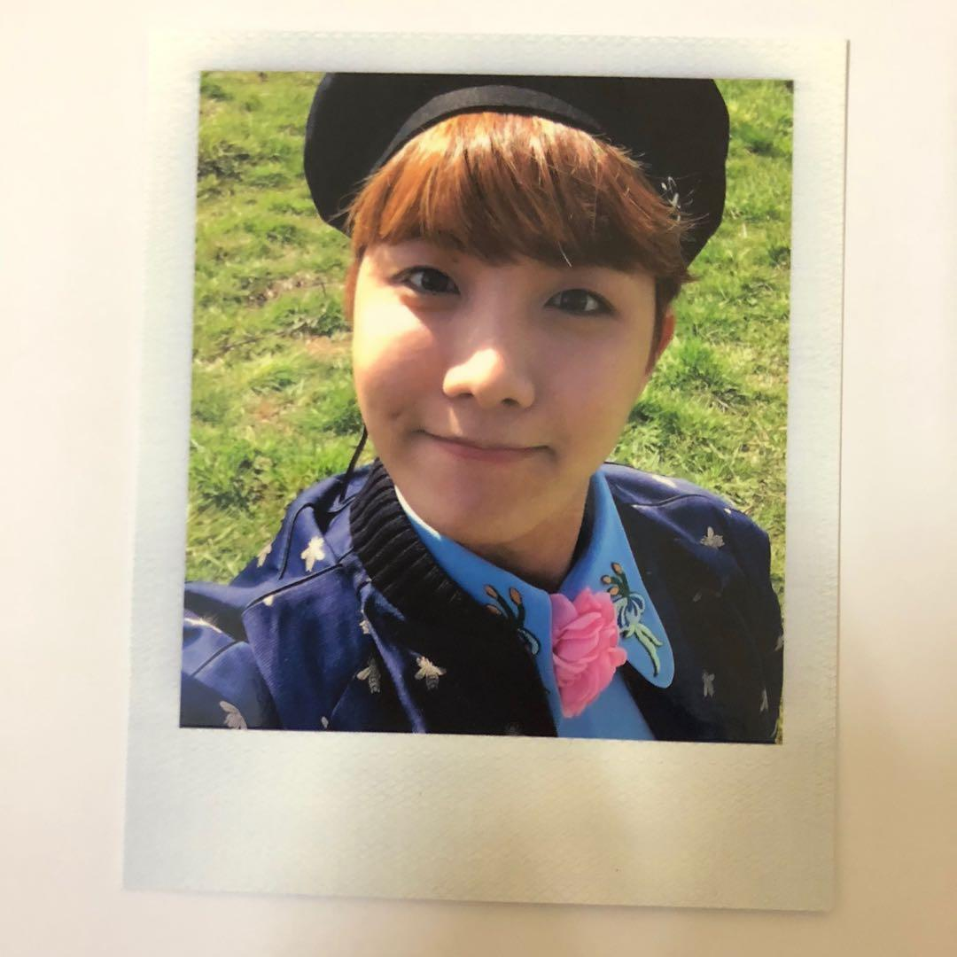J-hope(BTS) '花樣年華 Young Forever' Official photocard