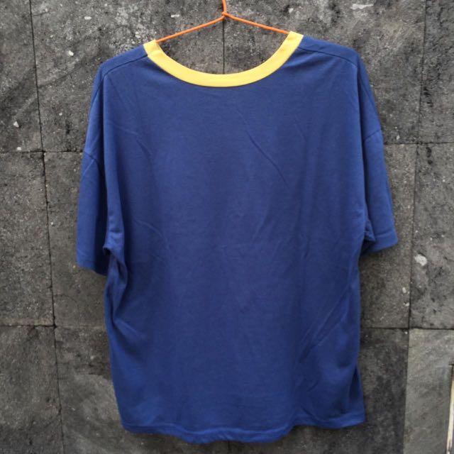 ring blue tshirt