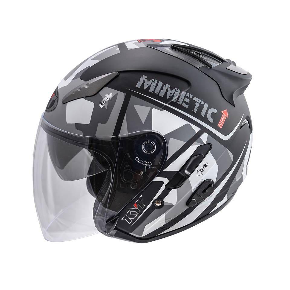 KYT DJ #A Helmet