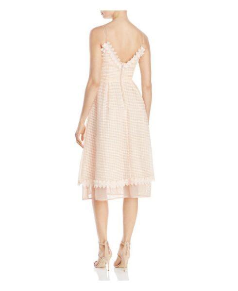 La Maison Talulah Women's Voile And Lace Midi Dress size 8 S