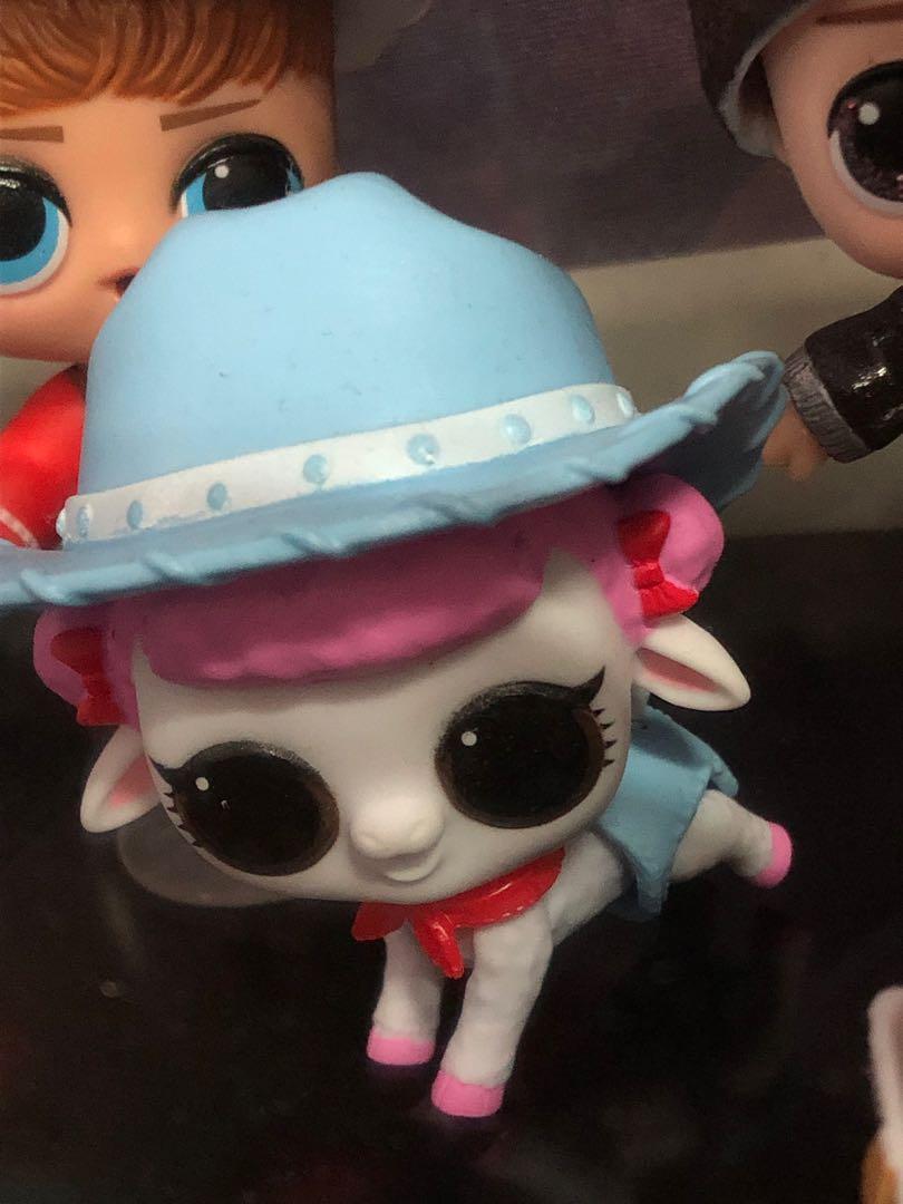 Lol Fuzzy Pet Lamb Dancer Color Change Toys Games Bricks