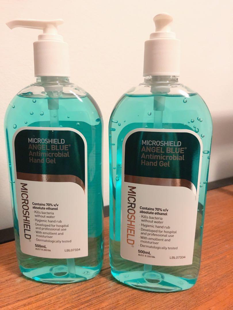 Microshield Hospital Grade Hand Sanitiser Sanitizers Microshield