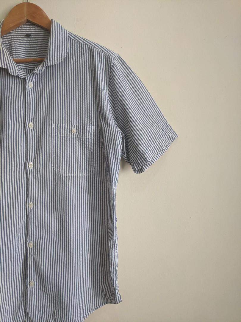 Muji Stripes Button Up Shirt #1111special