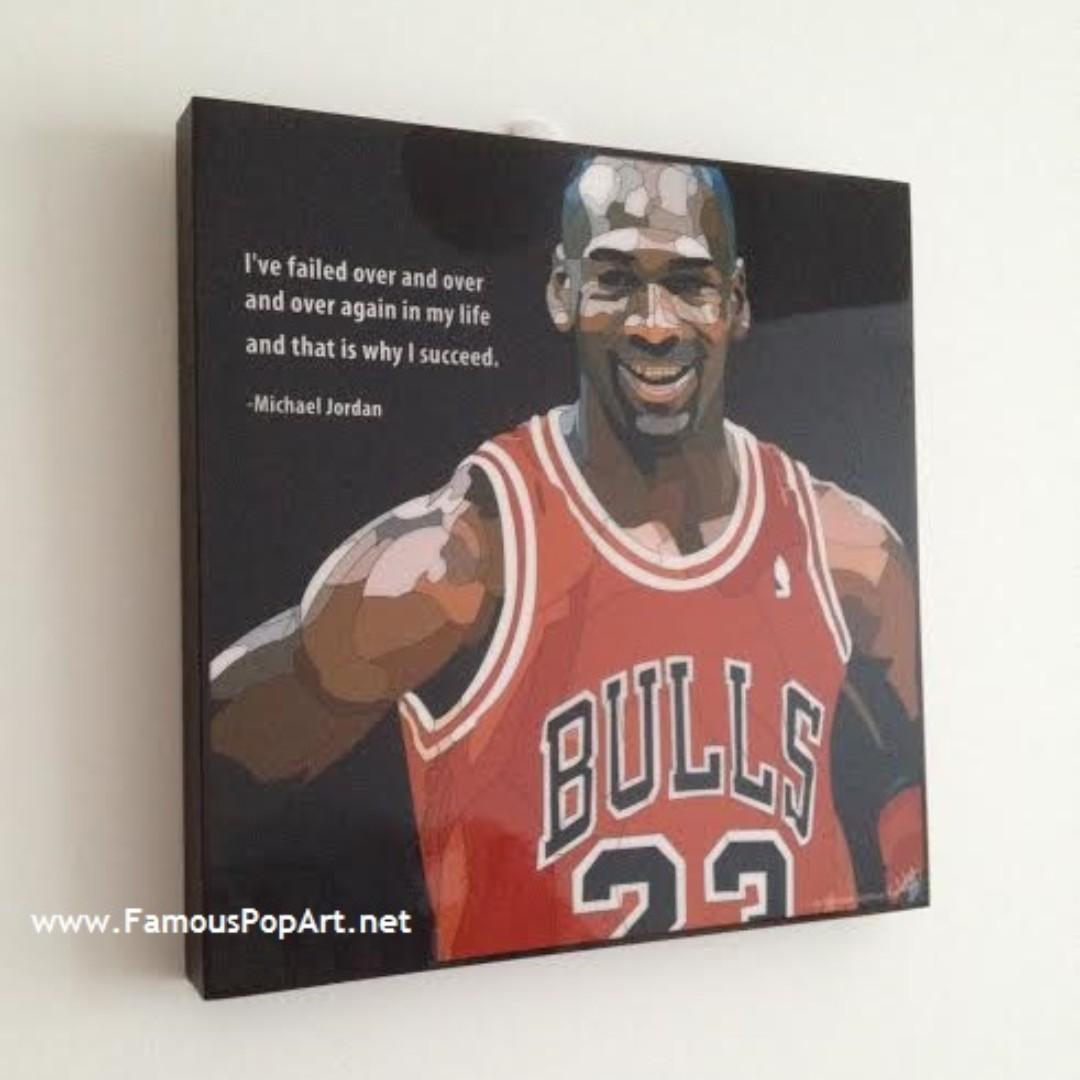 NBA Basketball Stephen Curry Jordan Harden PopArt! Wall Portrait Pop Art
