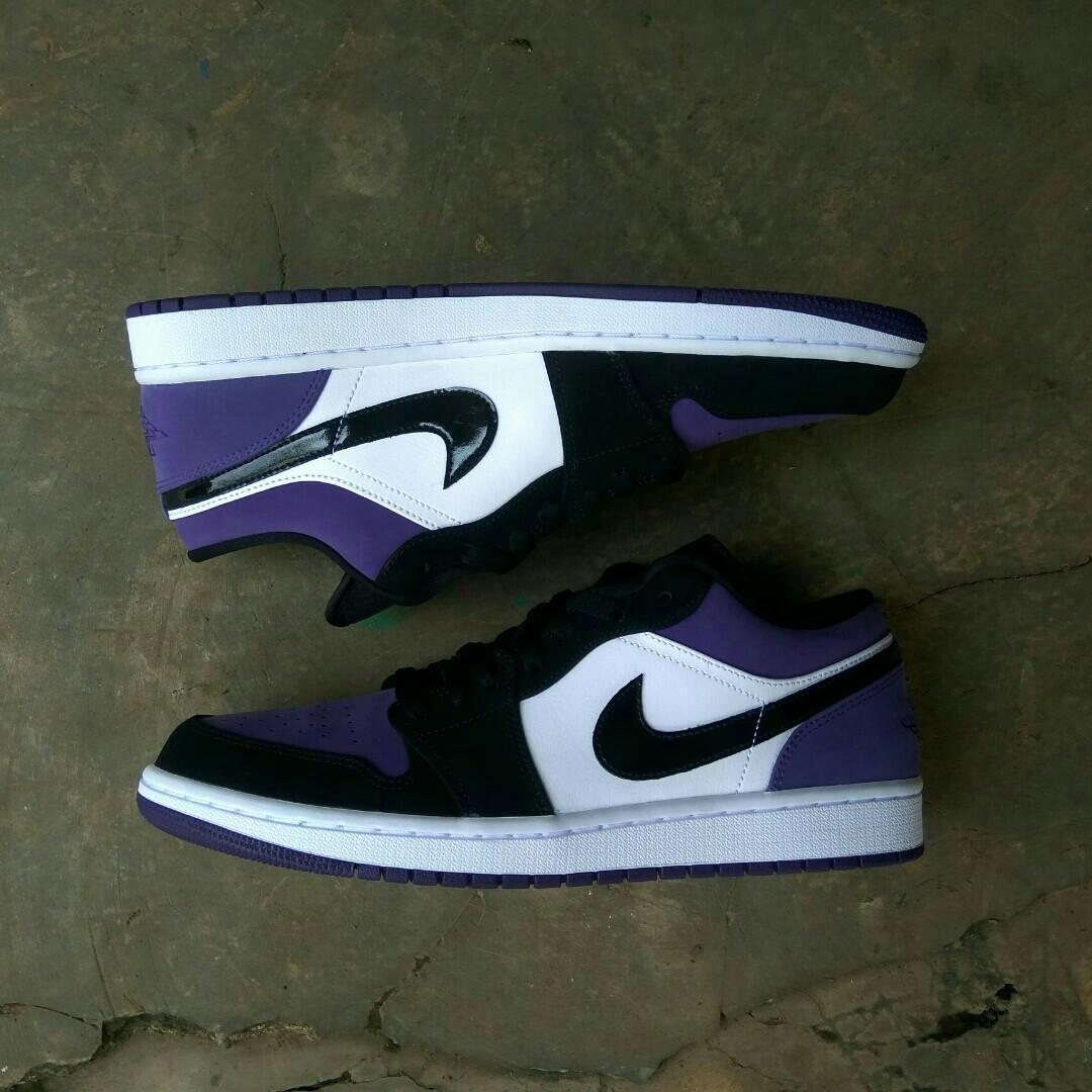 Nike Air Jordan Low Court Purple