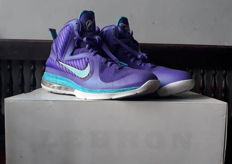 Nike LeBron 9 Hornets size 45 / 11