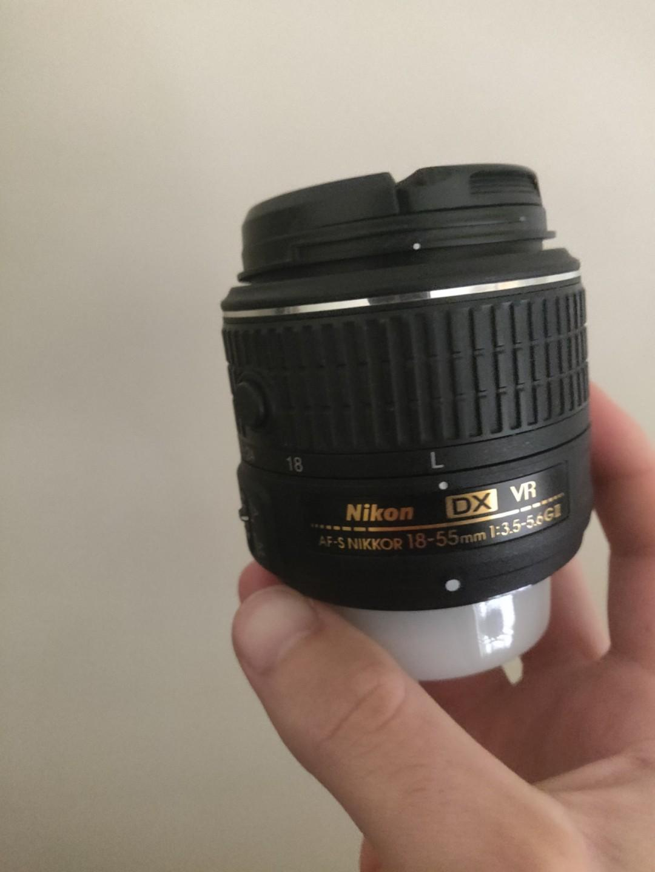 Nikon 18:55mm kit lens
