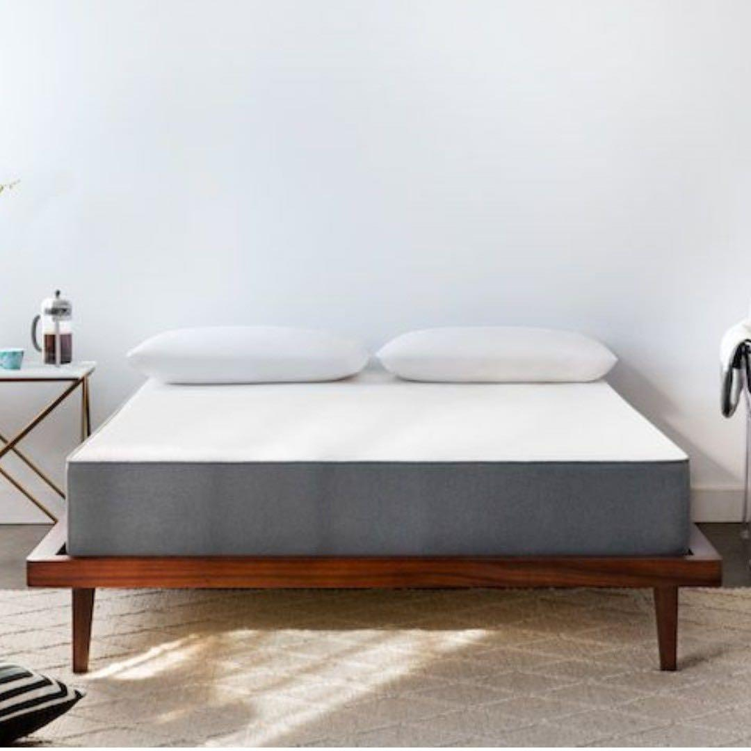 Noa Long Double Mattress 床垫, bed frame included!