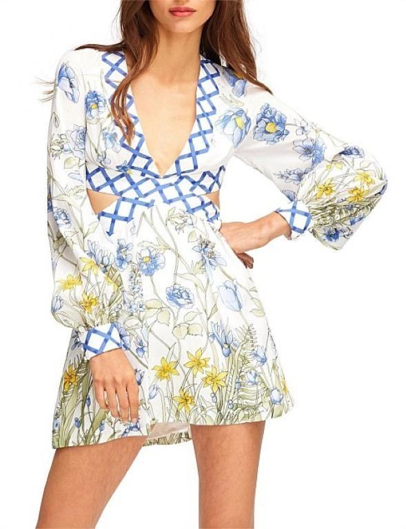 NWT ALICE MCCALL PORCELAIN FLOWER GIRL DRESS - SIZE 6 AU/2 US (RRP $450)
