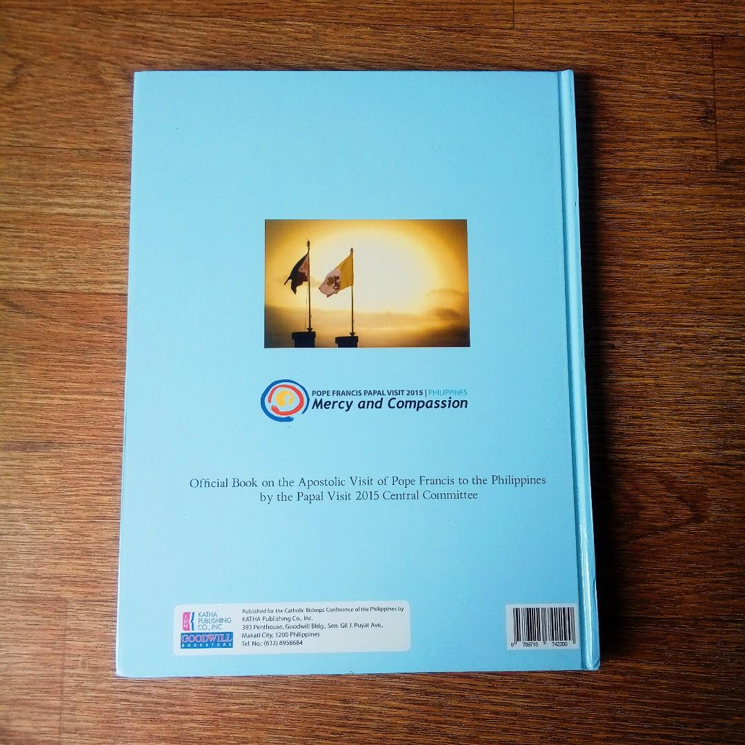 Official Book on the Apostolic Visit of Pope Francis in the Philippines by the Papal Visit 2015 Central Committee