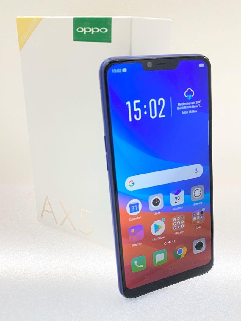Oppo Ax5 64GB Blue