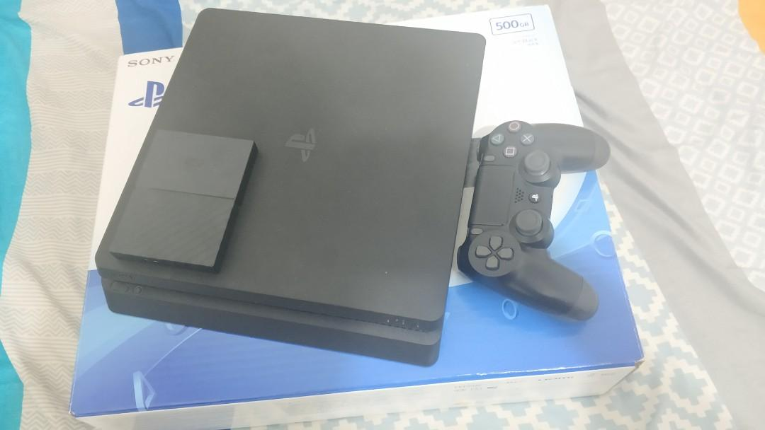 Playstation 4 Slim 500Gb + 2TB