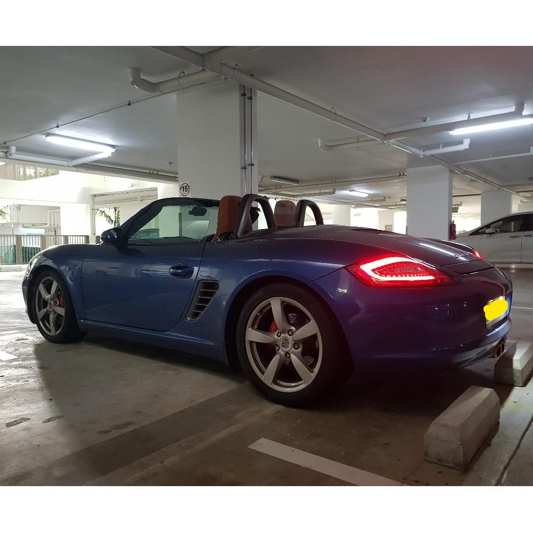 Porsche Boxster 3.4 GTS Manual