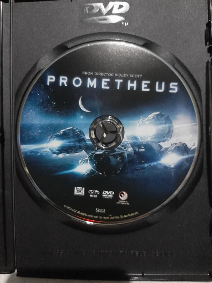 PROMETHEUS: The Art of the Film book by Mark Salisbury and Ridley Scott with DVD