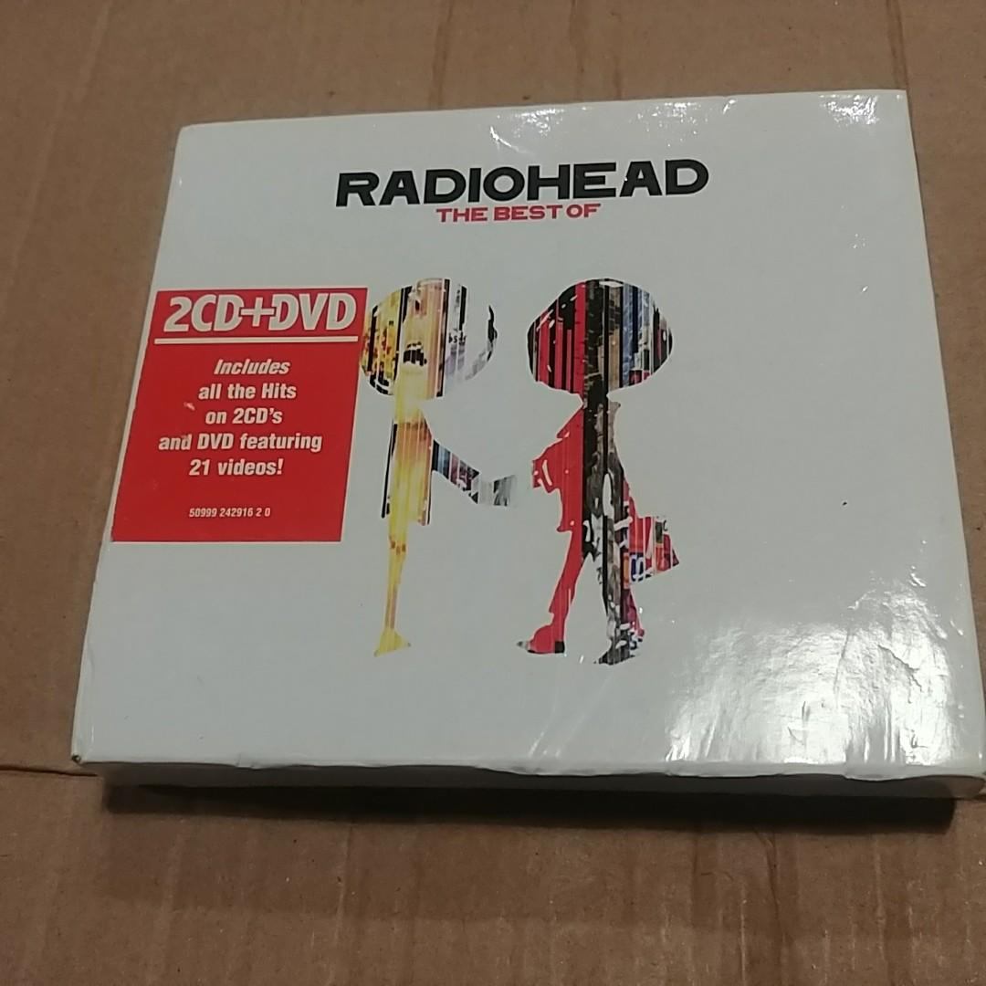 RADIOHEAD THE BEST OF 2CD+DVD 90新以上 十七