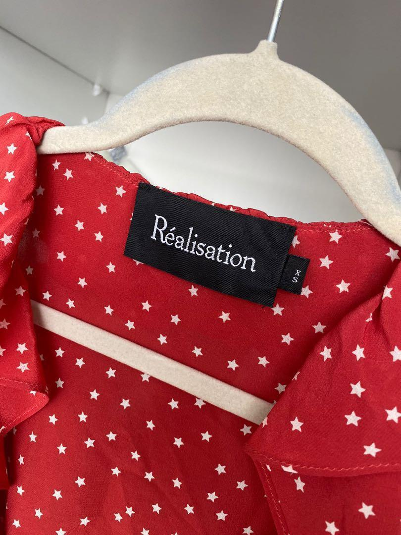 REALISATION PAR THE ALEXANDRA DRESS IN RED STAR XS
