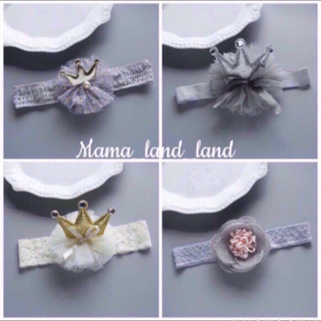 🎁 🎉 👶 Lovely baby fancy lace party headband accessories