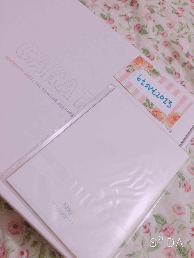 [SEALED/NEW] SEVENTEEN Official fanclub Carat Dictionary from Carat 4th Gen Kit