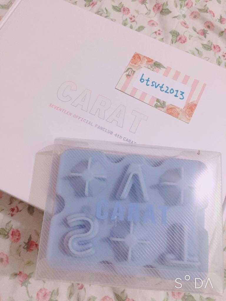 [SEALED/NEW] SEVENTEEN Official Fanclub Ice Tray from Carat 4th Gen Kit