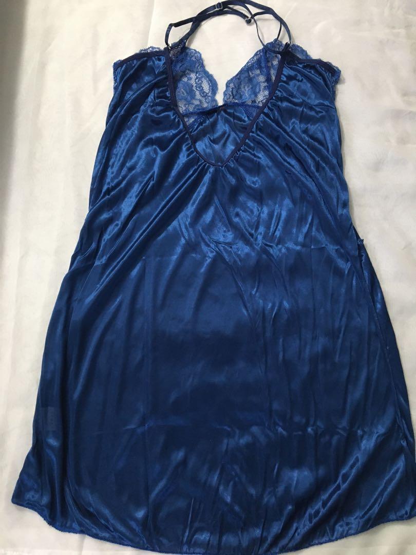 Sexy Elegant V Neck & Backless Dress Lingerie easy access breathable