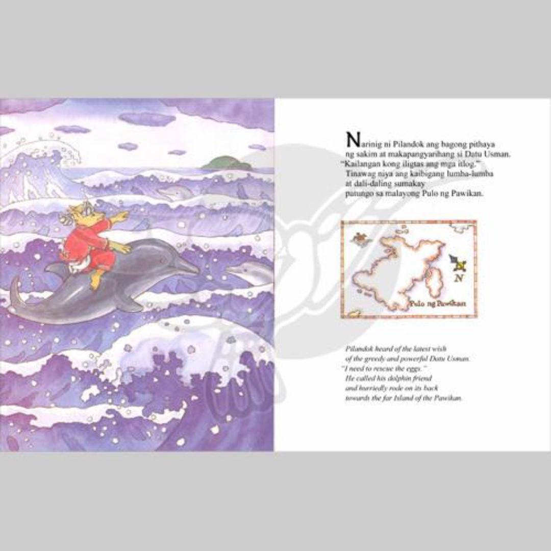 Si Pilandok sa Pulo ng Pawikan | English Filipino Bilingual | Children's Book
