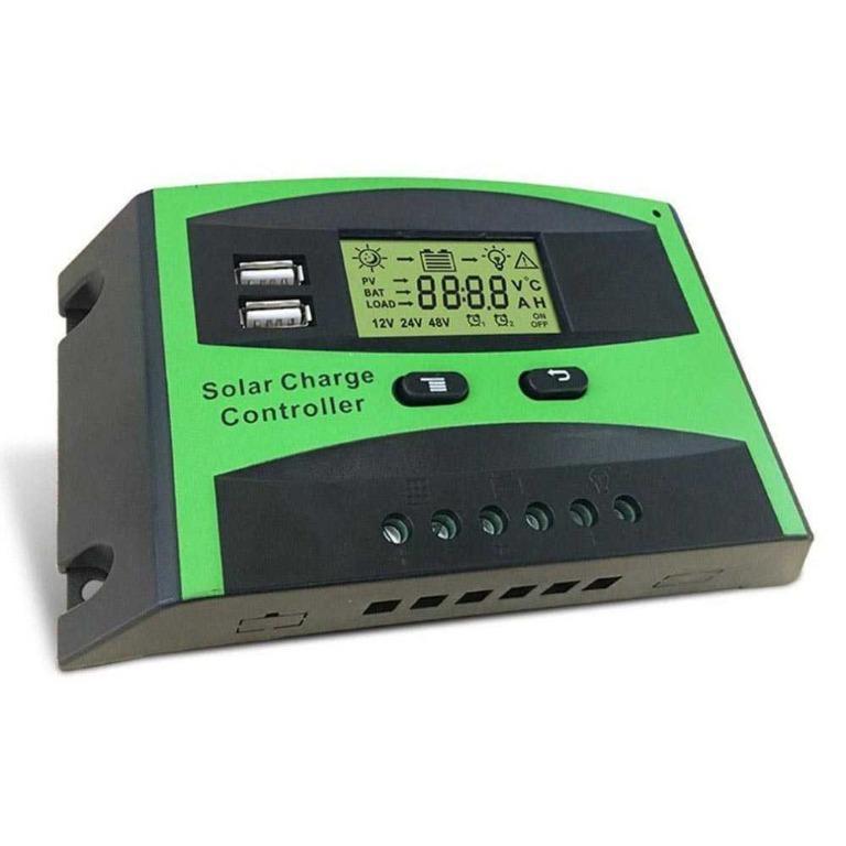 Solar Charger Controller Regulator Dual USB 12/24V - DJ242001-2 TItanGadget