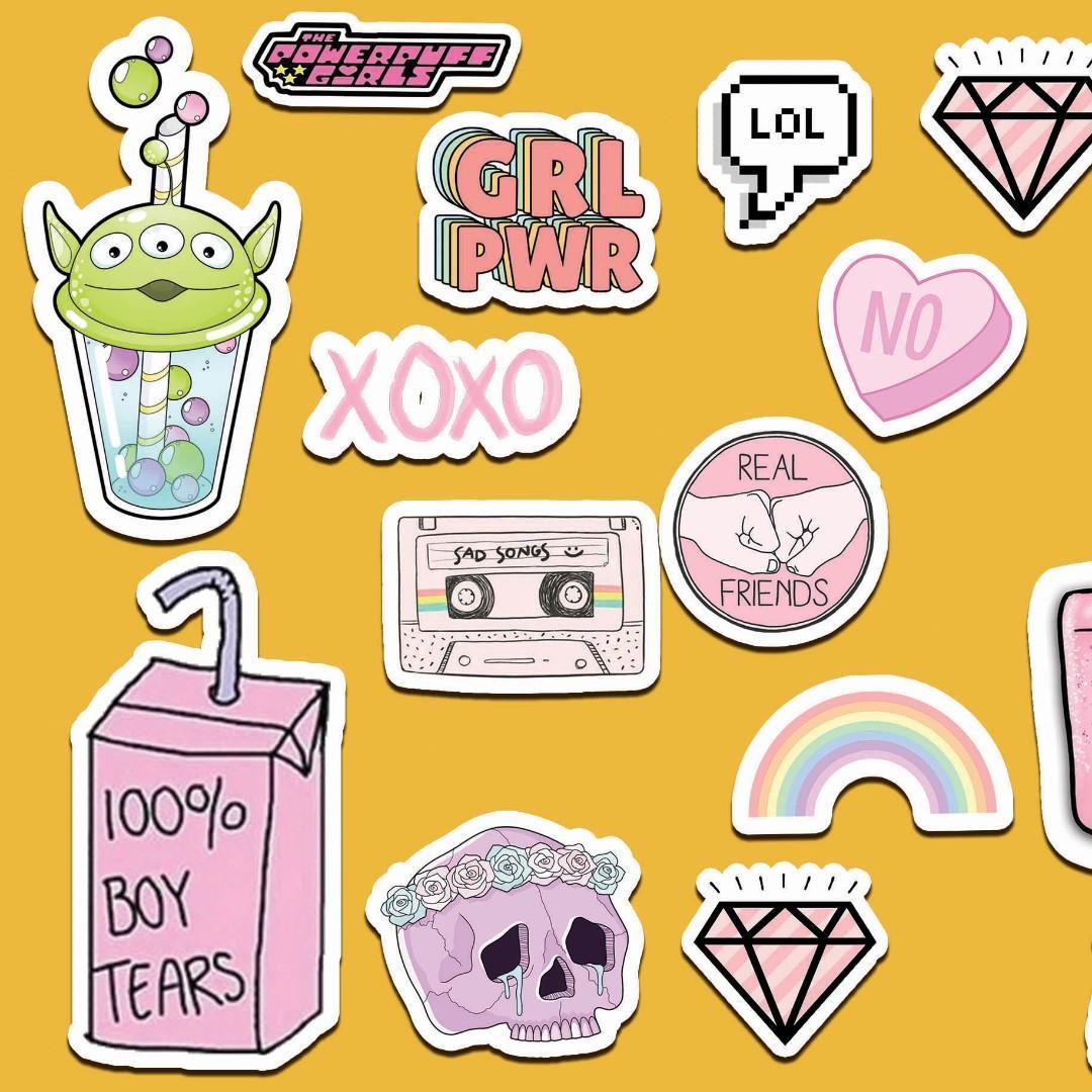 Stiker Tumblr