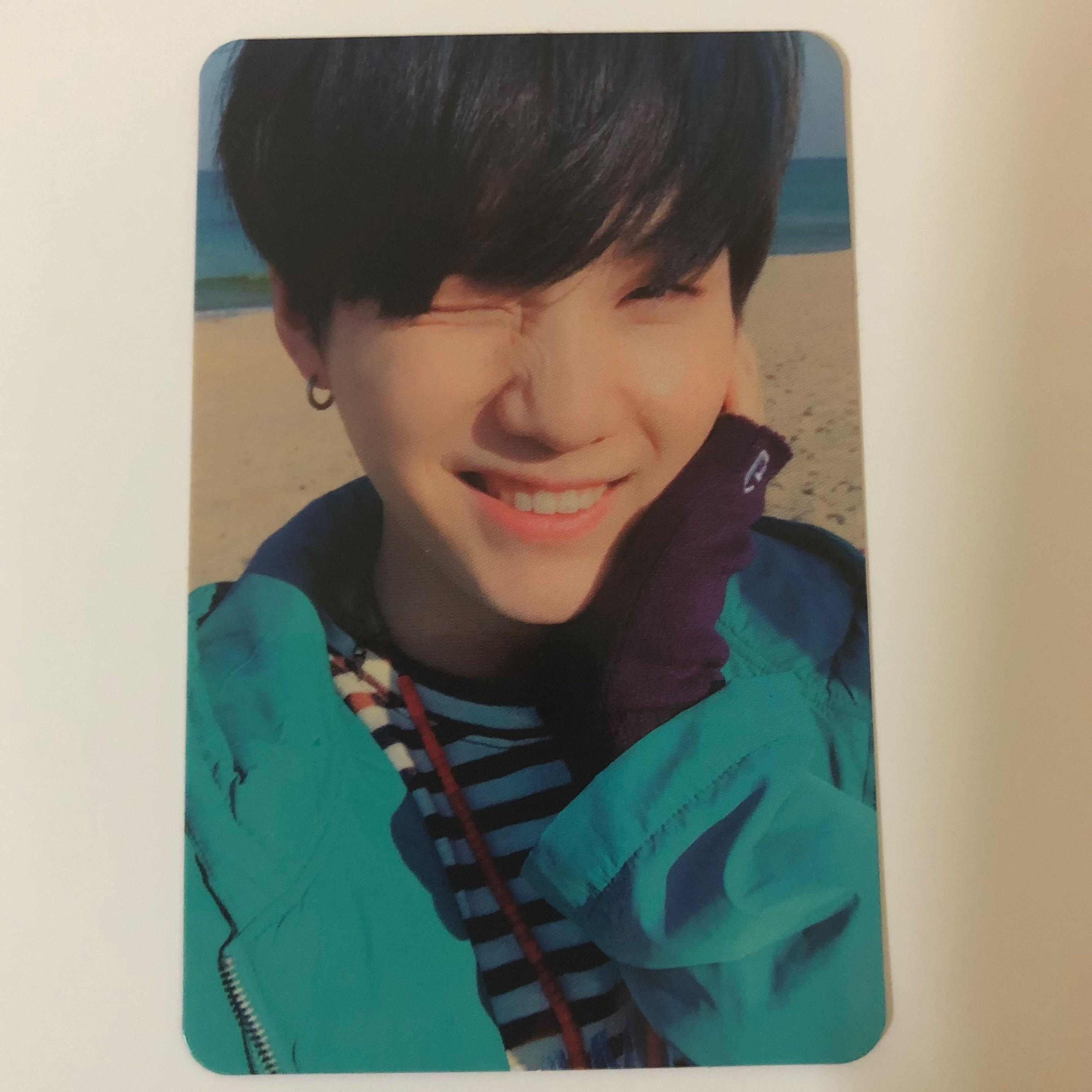 Suga(BTS) 'YOU NEVER WALK ALONE' Official photocard