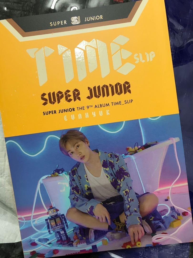 Super Junior The 9th Album Time_Slip Eunhyuk cover without pc