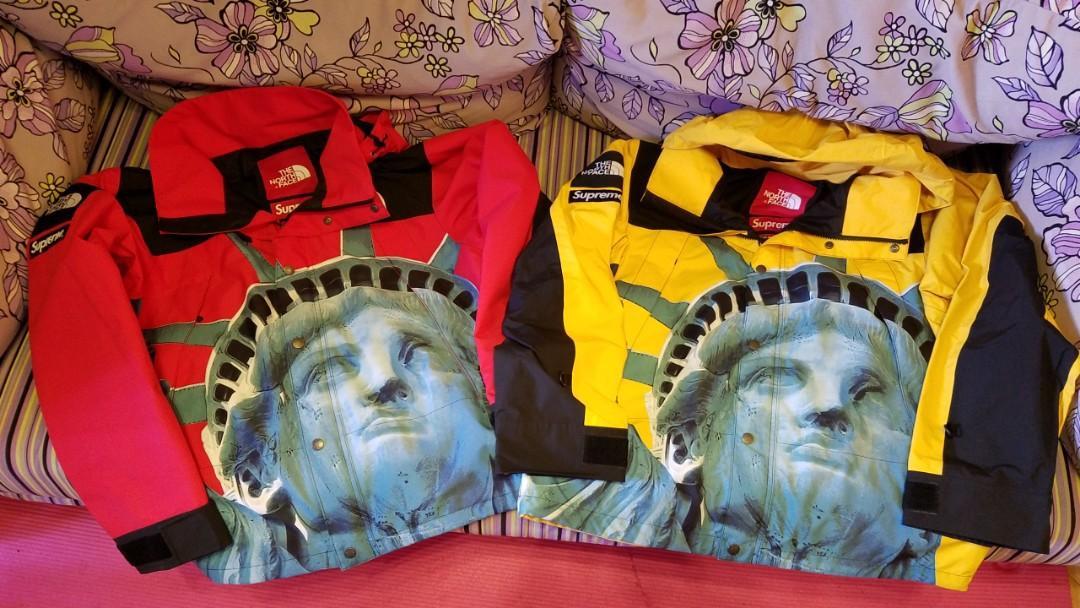 🌲🎅[全新連牌]Supreme X The North Face Statue Of Liberty M