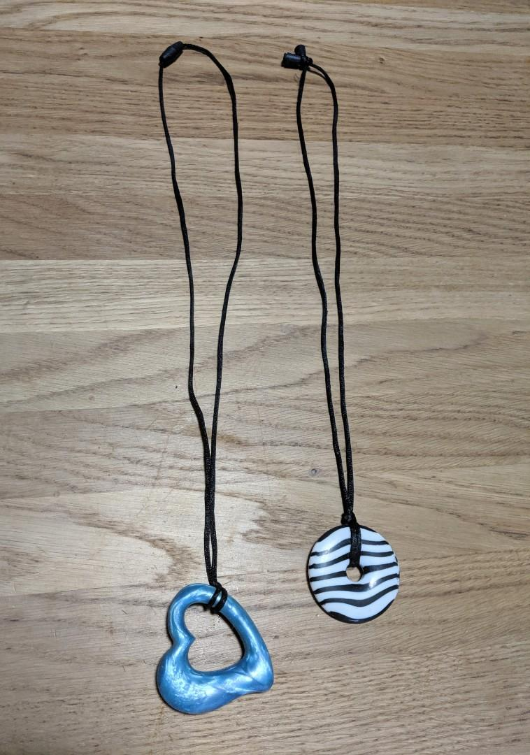 Teething Nursing Silicone Necklaces Baby Jewellery