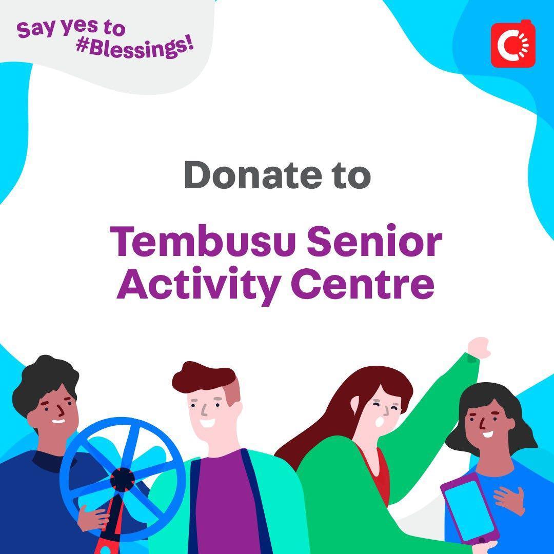 Tembusu Senior Activity Centre is looking for...