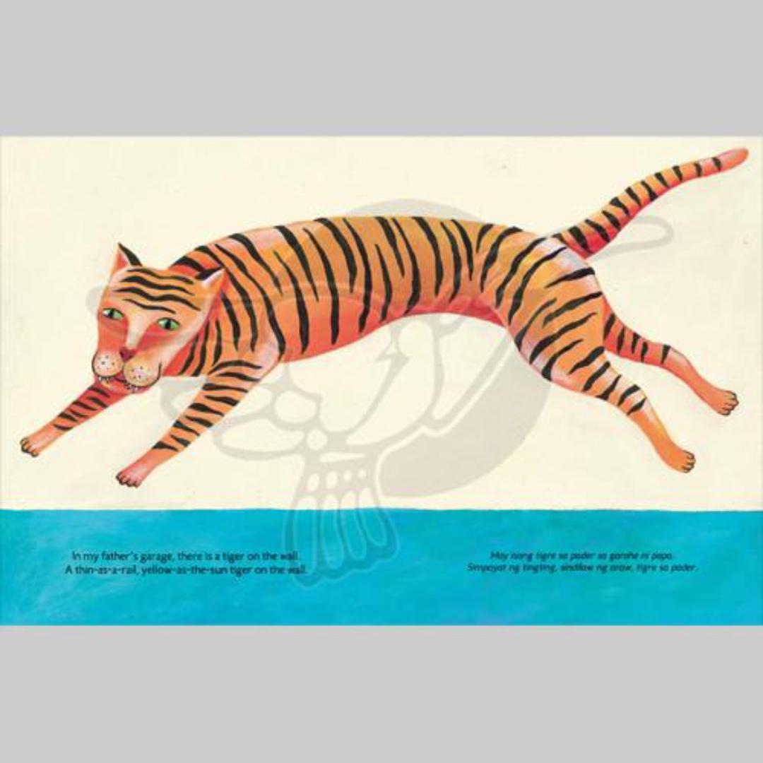 Tiger on the Wall | English Filipino Bilingual | Adarna House | Children's Book