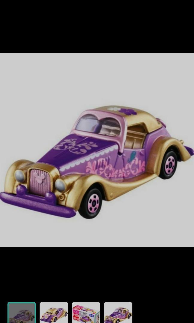 Disney rapunzel tomica car