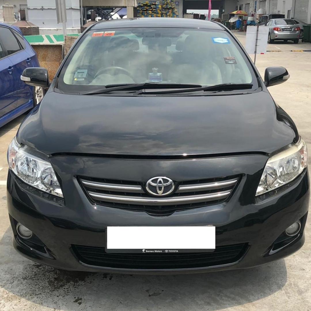 Toyota Altis for Rent