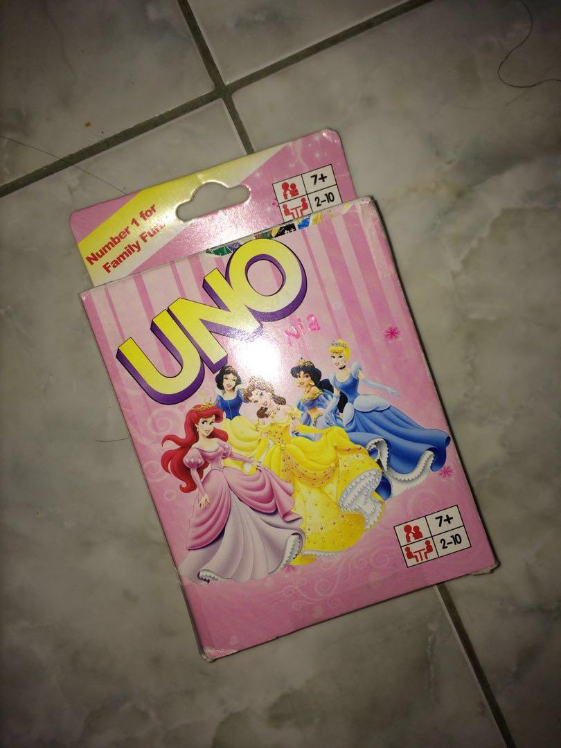 UNO Card - Princess
