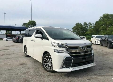 Unregistered Toyota vellfire 2.5 ZG sunroof (2016)