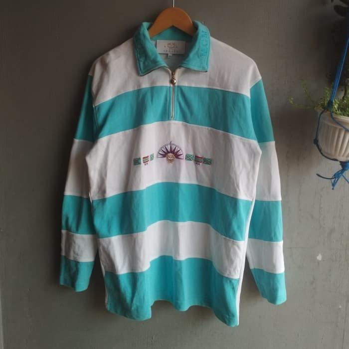 vintage MCM Sports rugby polo shirt