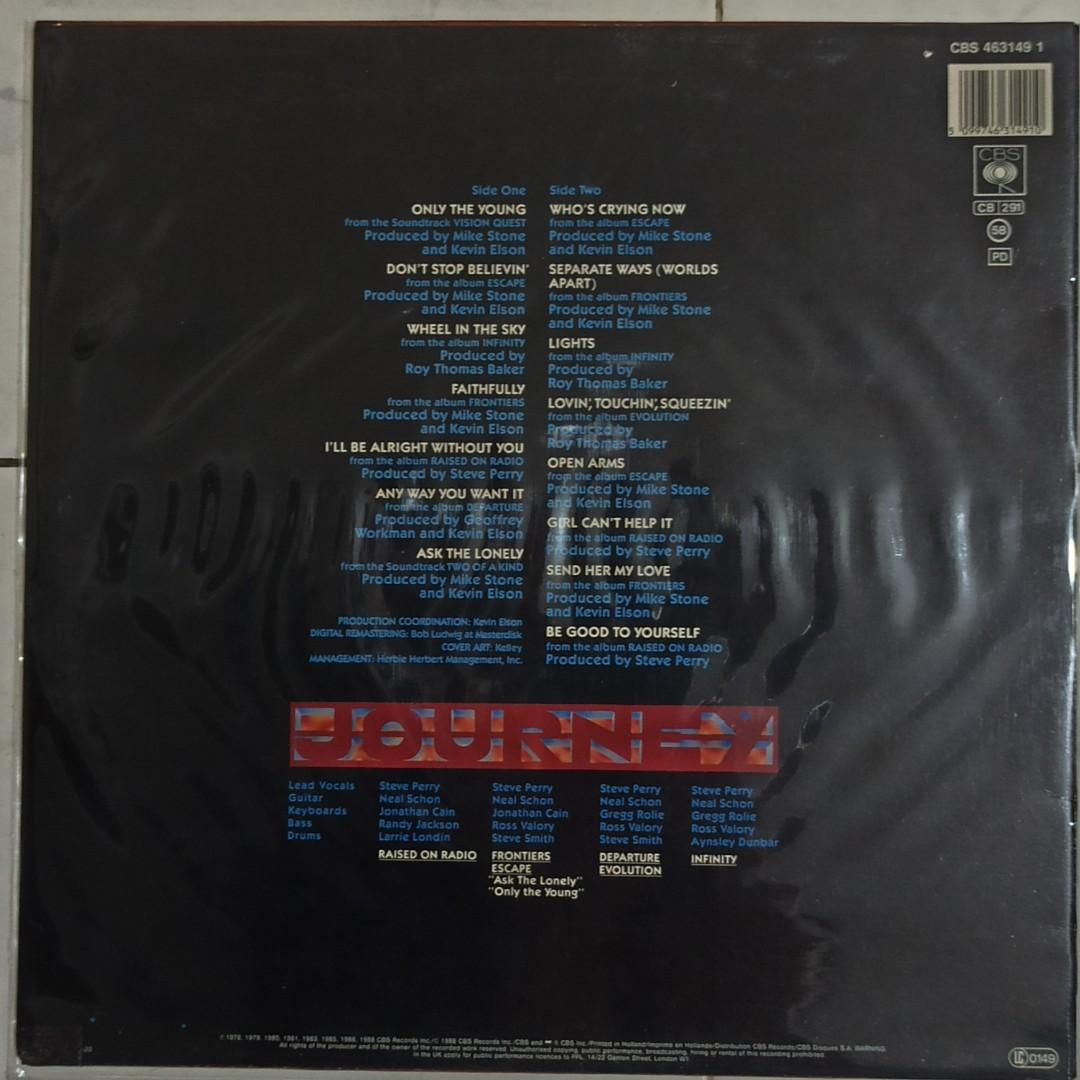 Vinyl LP : Journey ~ Greatest Hits