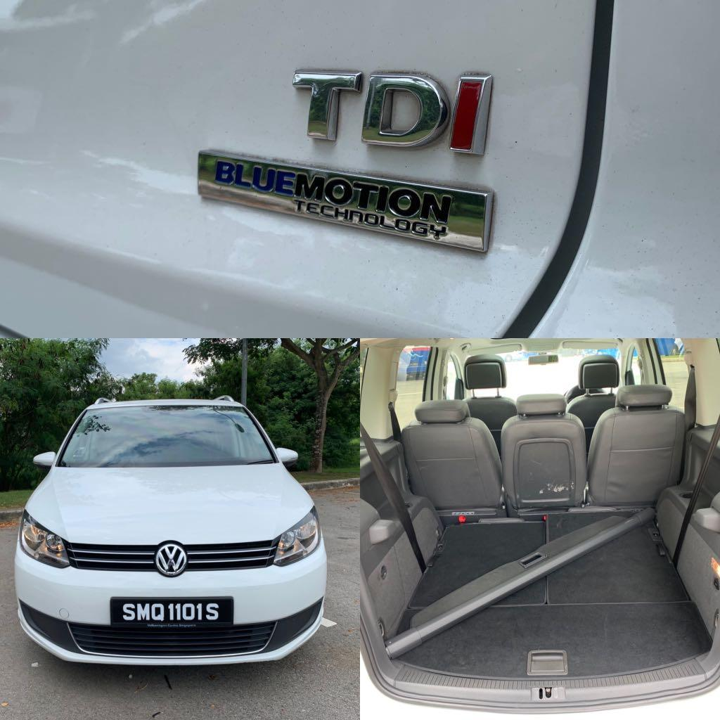 Volkswagen Touran Diesel for lease
