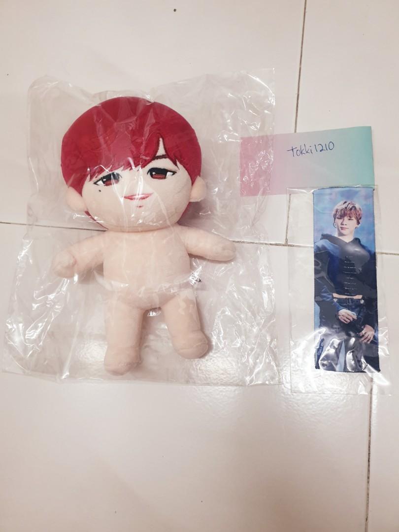 wanna one kang daniel 20cm doll kang flac ver2 cherry flac