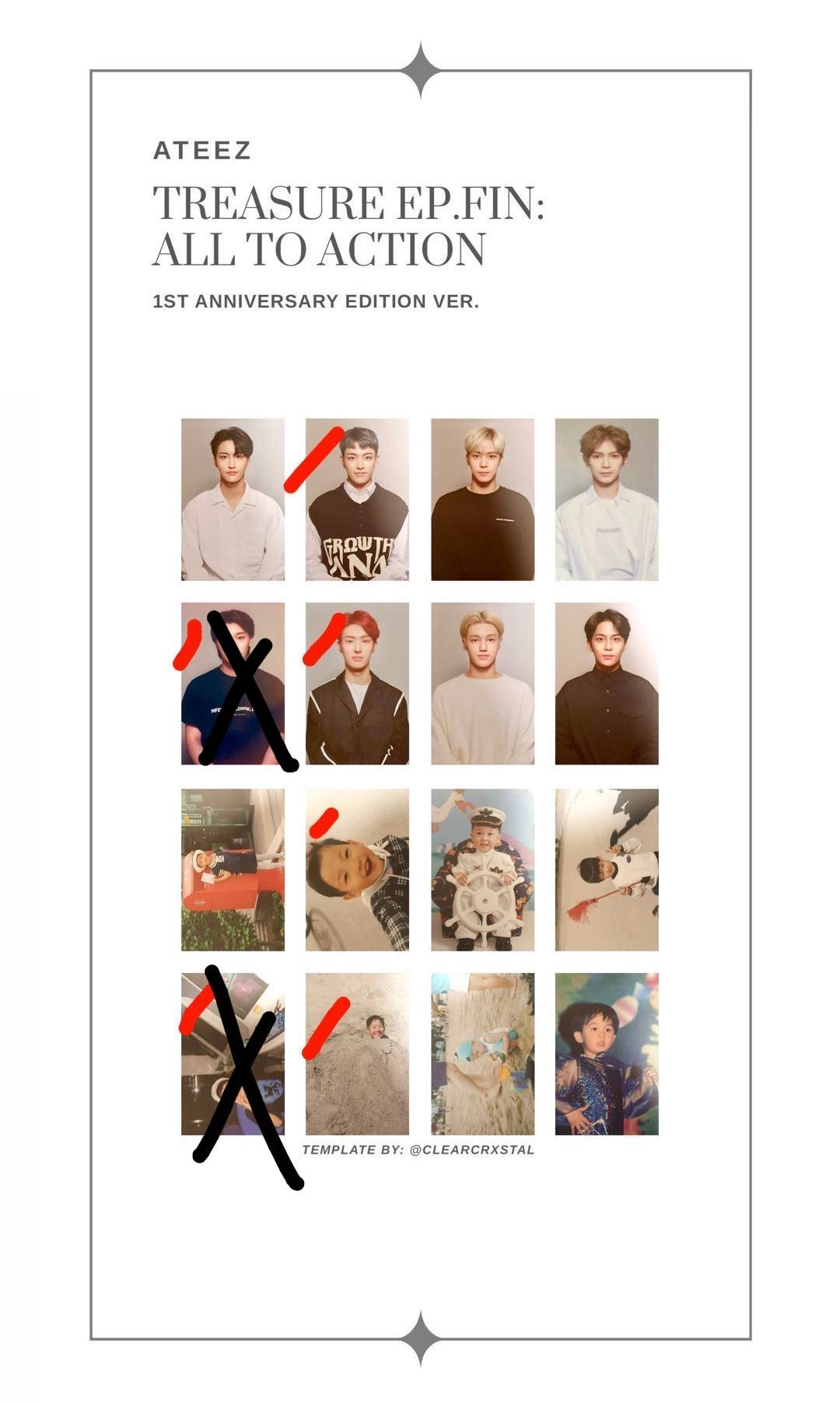 wtb ateez ep fin anniversary photocard 1574087949 916fa95c