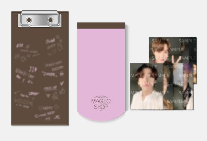 [WTS] BTS 5th Muster in Japan mini clipboard photocards loose