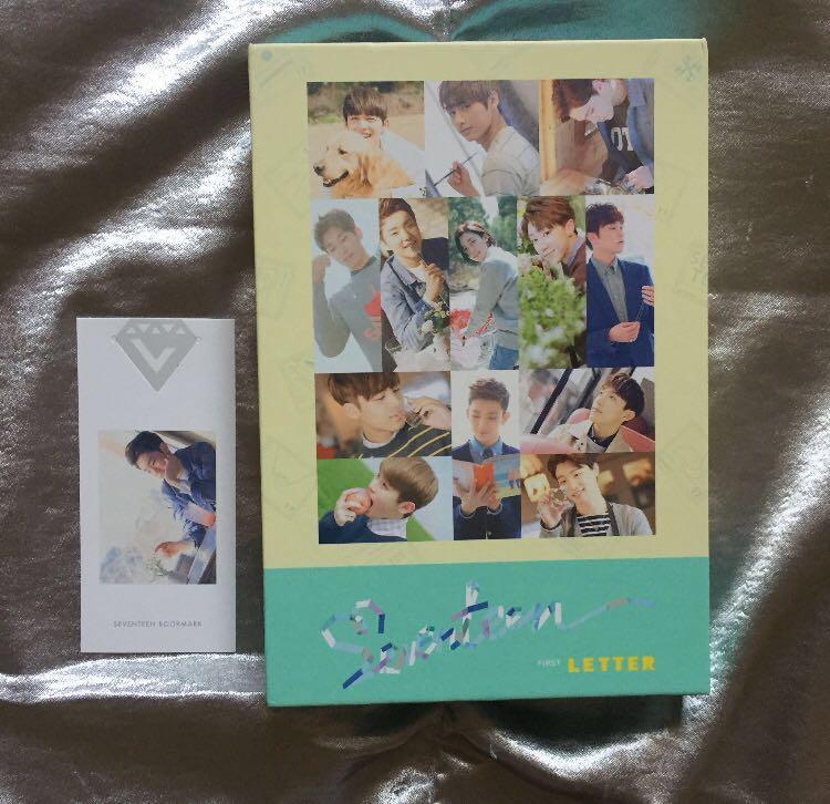 [WTS] Seventeen Love&Letter Album (First Letter Ver)