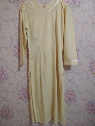 Preloved Dress Kuning
