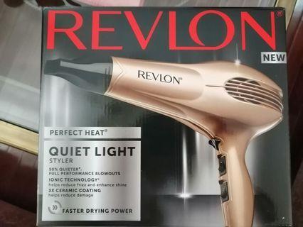 Revlon Perfect Heat Quiet Styler hair dryer